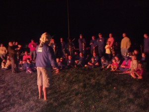 Story Telling at Bon Fire Fitch 2012